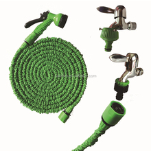 Corrugated Irrigation Garden Hose Soaker Drip Hose Nozzle Connector Pipe Hose 3M 9.8FT