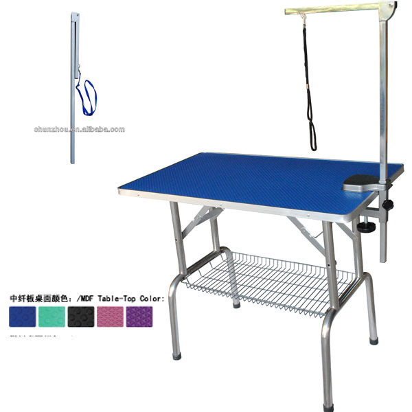 Foldable Pet Dog Grooming Table with Foldable Grooming Arm N-301D,N-302D,N-303D