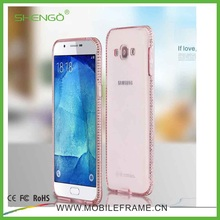 Shengo Promotional Clear Transparent Crystal Ultra Thin Flexible Soft TPU Case for Samsung galaxy note 3