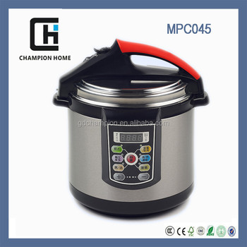 2015 Kitchen Appliances Hot sale MPC045 multifunction automatic electric pressure cookers