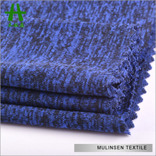 Mulinsen Textile Hot Sale High Quality Dyed Knit Spandex Jersey Cationic Polyester Fabric