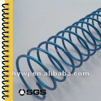SGS test spiral binding wire manufactured in ISO9001 factory