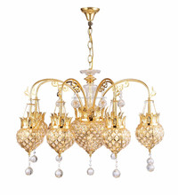 Fancy large crystal lobby chandelier light fitting