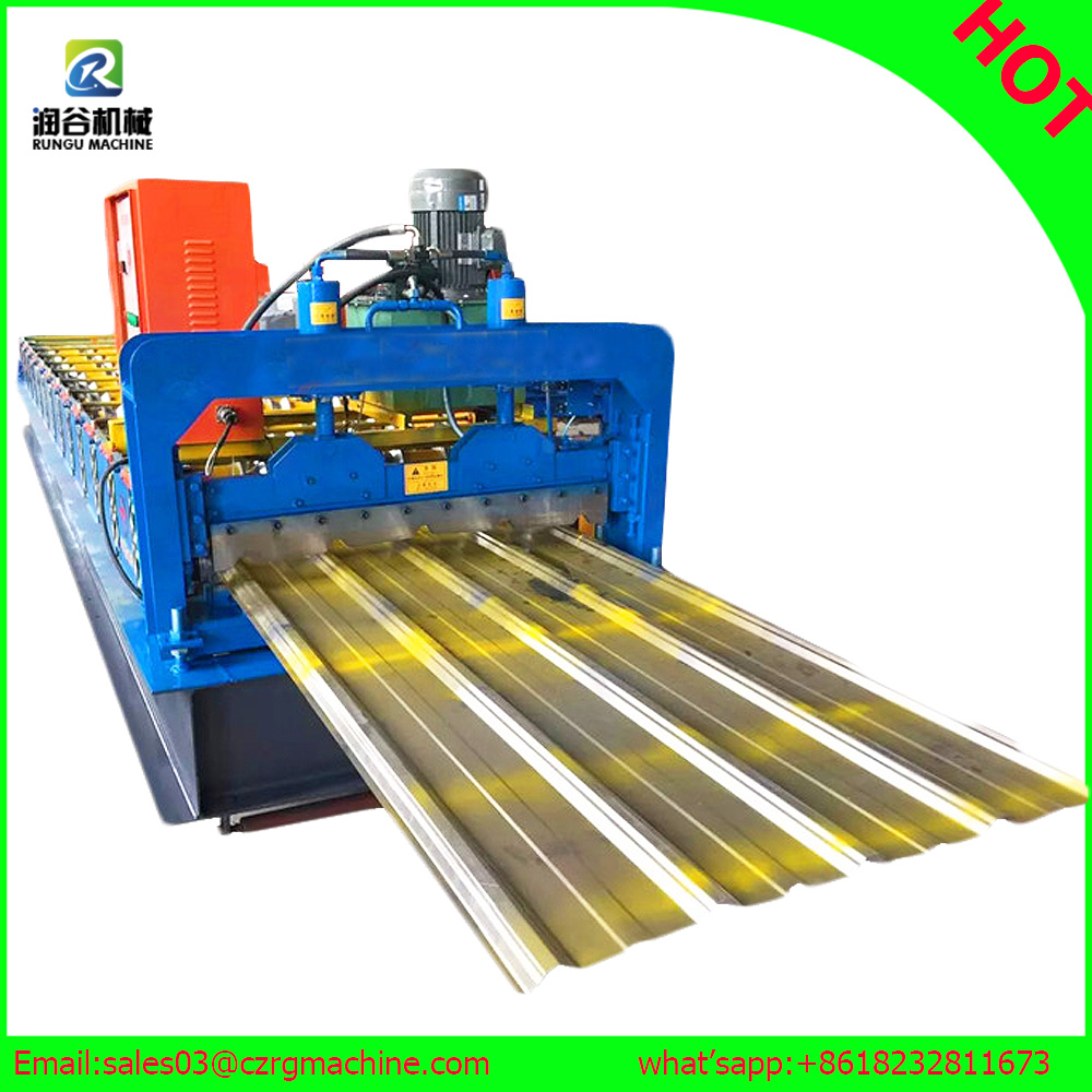 asphalt single roofing roll forming machine