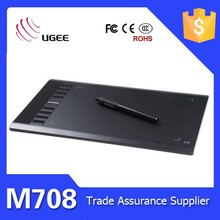 "Ugee M708 Professional Art Graphics Drawing Tablet 10"" For Windows PC Mac New"