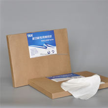 Dry spunlace / pp /woodpulp nonwoven wipe roll for wet tissue wipes in canister /caps and bottles