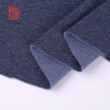 shaoxing textile 100% polyester blend elastic american knit fabric for garment