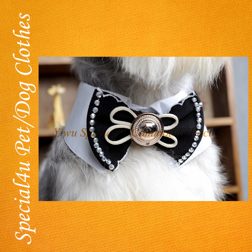 Wholesale Small Pet Accessary Cheap Bow Ties Dog Cat Pet Bow Tie For Pets SHLY-934