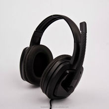 cool fashion huge cover headsets for gaming computer 3.5mm connect