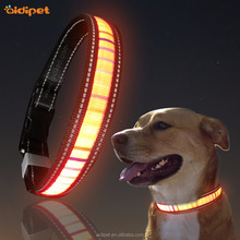 Wholesale Pet Dog Led Collar, Reflective Dog Collar Led Rechargeable