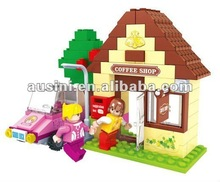 123pcs fairyland diy mini house