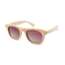 With lenses Custom logo colorful Sun Glasses bamboo wooden polarized floating man sunglasses