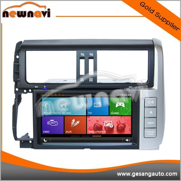 automobile GPS navigation car radio dvd player for Toyota Prado 150 Series (2010-2011)