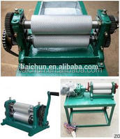 beeswax embossing roller machine for beekeeping hand crank foundation machine