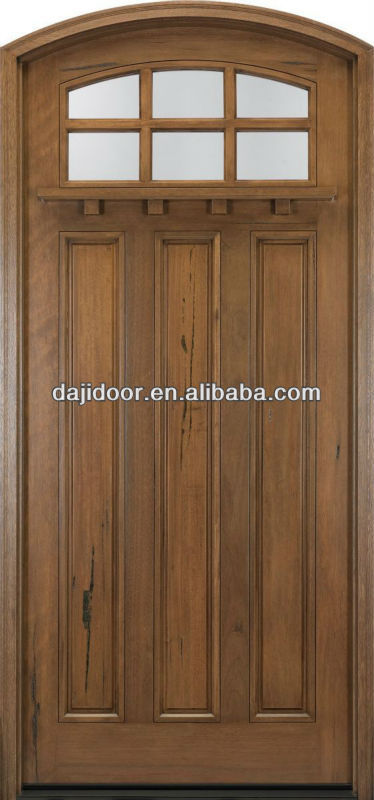 American Craftsman Single Arch Doors With Threshold DJ-S5819