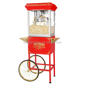 8ounce Corn Popper Popcorn Cones Makers 6000 Top Red
