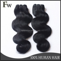 Hot sale indian remy human hair body wave hair weave factory wholesale price