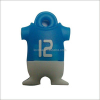 customized cool gifts 3D cartoon 500GB USB flash drive promotional ideas for world cup 2014 LFWC-08
