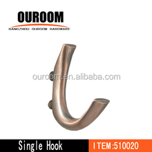 Metal hook/Clothes hanging hook/Metal clothes hanger hook