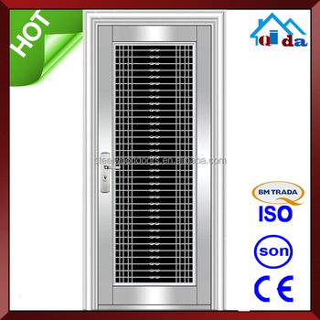 QD-SS070 Stainless Steel Frame With New Designs Stainless Steel Door