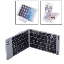 Universal 2-fold Alunminum Alloy Bluetooth Keyboard with Protective Case
