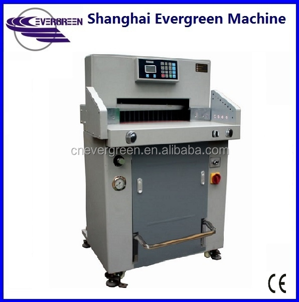 Automatic heavy duty 520MM hydraulic guillotine paper cutter