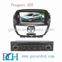 radio dvd car for Peugeot 207 WS-9430