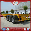 China 40 ton container semi trailer car