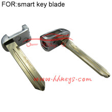Smart uncut car key blade replace fit for Hy-undai remote key shell car