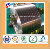 high quality copper plated strips
