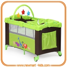 European standard baby playpen second layer baby playpen playyard baby travel cot
