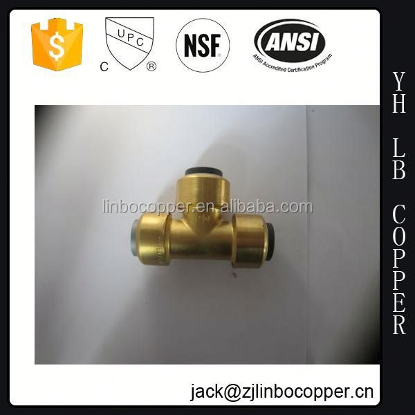 ZYF1235 China High Quality 3 Way Manifolds Brass Pipe Fitting Connector