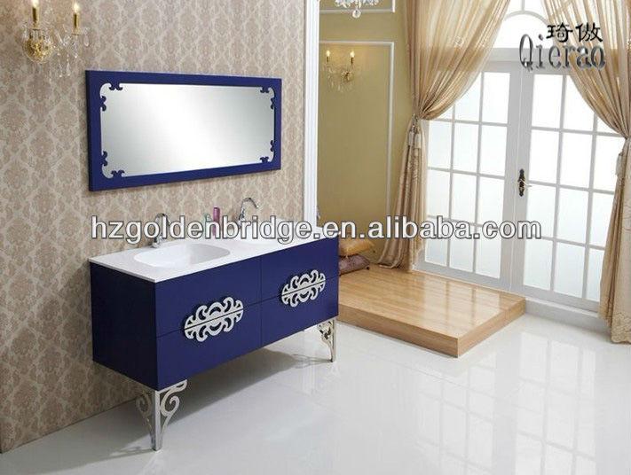 Estilo europeo doble lavabo muebles de ba o modernos for Muebles modernos estilo europeo