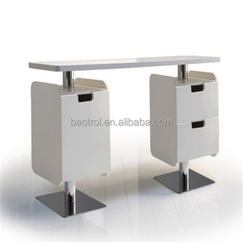 Modern nail manicure table for sale exhaust fan used nail for Manicure table with exhaust fan