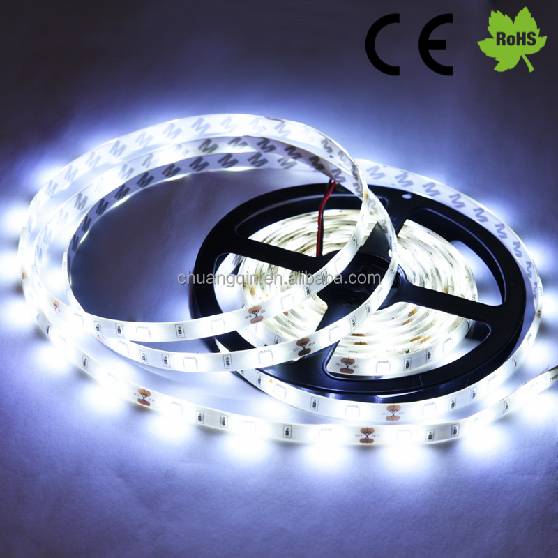 Pure White color High Lumen Led Strip Light Addressable 5050 Flexible SMD,12V 5050 Led Strip