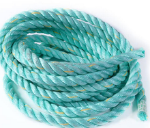 Long life 12mm pp multifilament solid rope