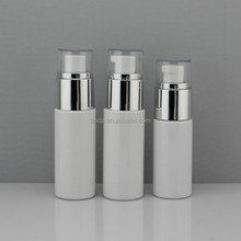 PET list of plastic products cylinder plastic bottle for cosmetic