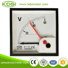 electric generator BE-96 DC4-20mA 60V double pointer mini digital voltmeter