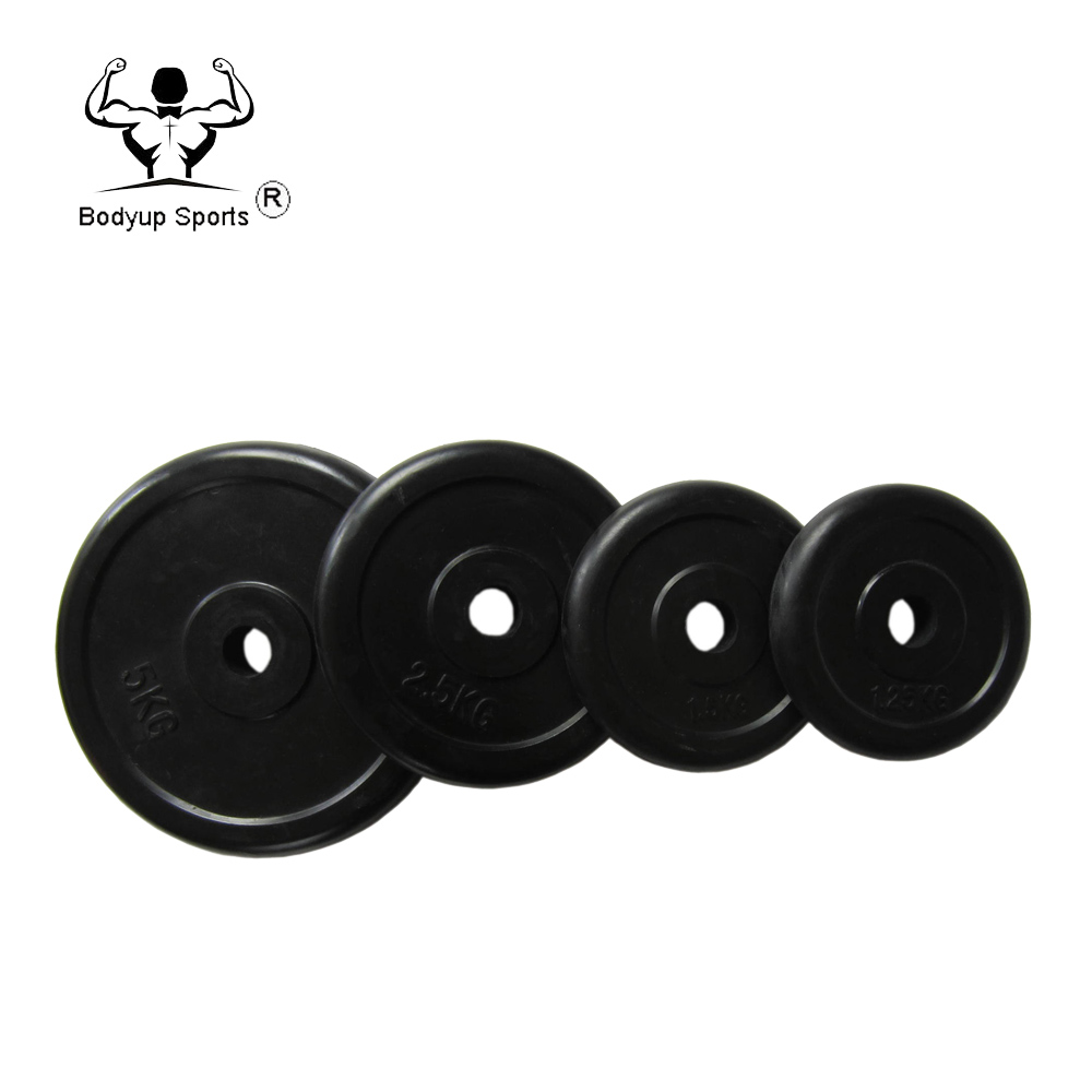 Crossfit Power Training Rubber Coated Weight Plate