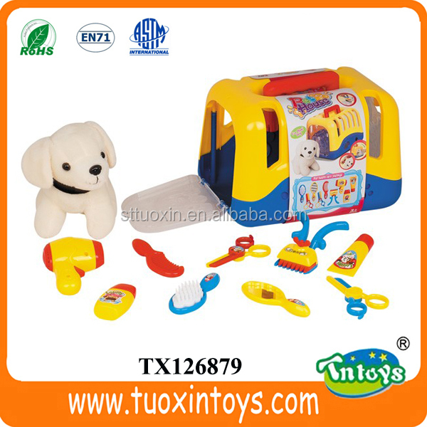 cheap plush battery operated dog toys free sample