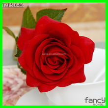 7*44cm height real touch rose flower latex wedding flowers