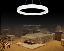 wholesale decorative modern acrylic ring chandelier