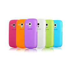 CLEAR THIN HARD CRYSTAL BACK CASE COVER SKIN FOR SAMSUNG GALAXY s3 mini