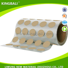 Good at insulating property 0.05mm adhesive silicone cloth for networking products