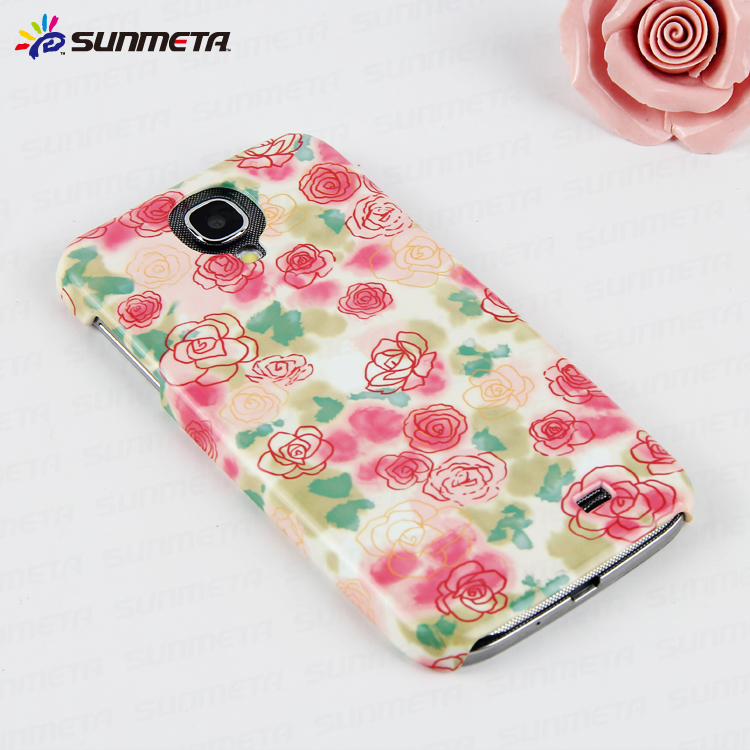 china sunmeta dye sublimation blanks sublimation phone cases phone covers for Samsuang S4