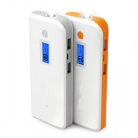 High Capacity LED torch Charger External Battery Power Bank 13000Mah For Mobile phone