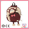 ICTI Factory soft Plush and stuffed decorative personalized backpacks for kids