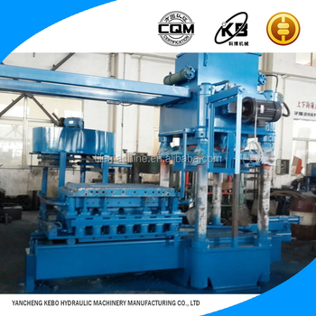 Highly productivity Business industrial automatic hydraulic formed Kerbstone making machine KBJX