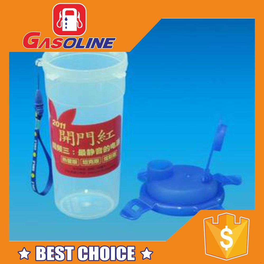 Attractive antique style plastic drinking cup lid straw