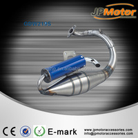 High quality , modifled stainless steel motorcycle exhaust/exhaust pipe for motorcycel, scooter DIO50